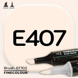 Маркер FINECOLOR Brush E407 Розовая кожа