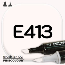 Маркер FINECOLOR Brush E413 Скорлупа