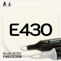Маркер FINECOLOR Brush E430 Слоновая кость