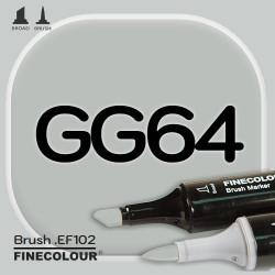 Маркер FINECOLOR Brush GG64 Серо-зеленый №5