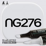 Маркер FINECOLOR Brush NG276 Нейтральный серый №2