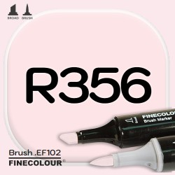Маркер FINECOLOR Brush R356 Румянец двухсторонний