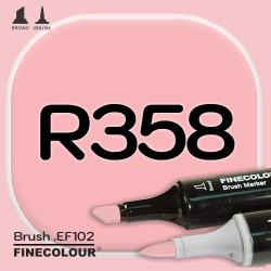 Маркер FINECOLOR Brush R358 Королевская креветка