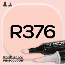 Маркер FINECOLOR Brush R376 Фруктово-розовый двухсторонний