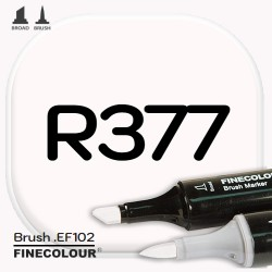 Маркер FINECOLOR Brush R377 Розовый берилл