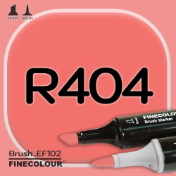 Маркер FINECOLOR Brush R404 Красный лосось
