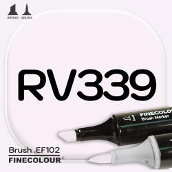 Маркер FINECOLOR Brush RV339 Водяная лилия двухсторонний
