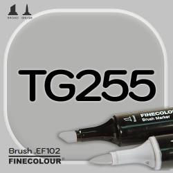 Маркер FINECOLOR Brush TG255 Серый тонер №5 двухсторонний