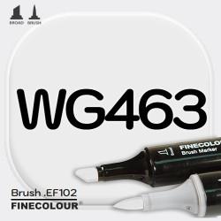 Маркер FINECOLOR Brush WG463 Теплый серый №1 двухсторонний