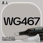 Маркер FINECOLOR Brush WG467 Теплый серый №5