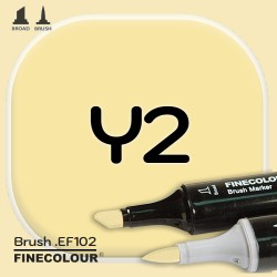 Маркер FINECOLOR Brush Y2 Цвет кукурузы