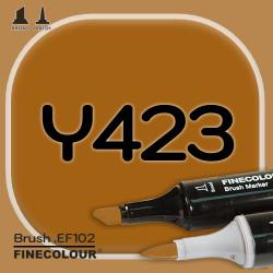 Маркер FINECOLOR Brush Y423 Цвет тика