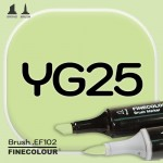 Маркер FINECOLOR Brush YG25 Летний лист