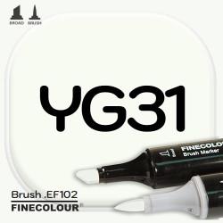 Маркер FINECOLOR Brush YG31 Белый воск