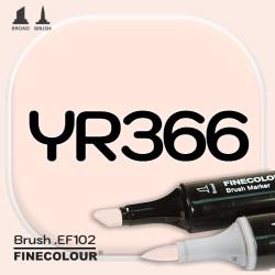 Маркер FINECOLOR Brush YR366 Розовый оттенок кожи двухсторонний