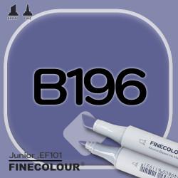 Маркер FINECOLOR Junior B196 Сине-фиолетовый двухсторонний