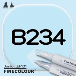 Маркер FINECOLOR Junior B234 Розовое яйцо двухсторонний