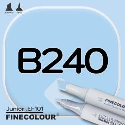 Маркер FINECOLOR Junior B240 Светло-голубой двухсторонний