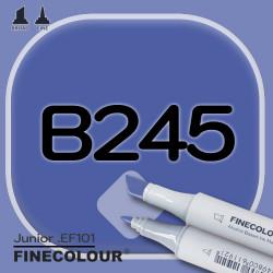 Маркер FINECOLOR Junior B245 Берлинская лазурь двухсторонний