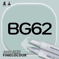 Маркер FINECOLOR Junior BG62 Оттенок зеленовато-серый двухсторонний