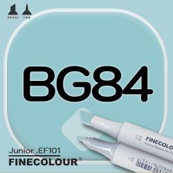Маркер FINECOLOR Junior BG84 Зеленая бездна двухсторонний