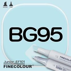 Маркер FINECOLOR Junior BG95 Голубое море двухсторонний