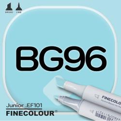 Маркер FINECOLOR Junior BG96 Праздничный синий двухсторонний