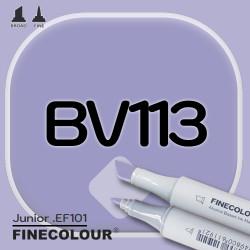 Маркер FINECOLOR Junior BV113 Сиреневый глубокий двухсторонний