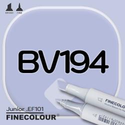 Маркер FINECOLOR Junior BV194 Синяя гортензия двухсторонний