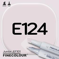 Маркер FINECOLOR Junior E124 Ясень двухсторонний