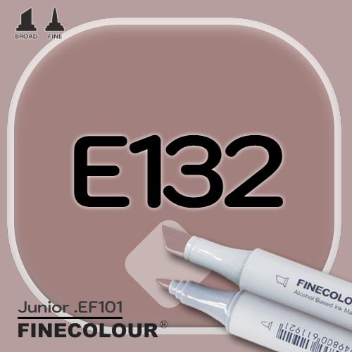 Маркер FINECOLOR Junior E132 Умбра двухсторонний