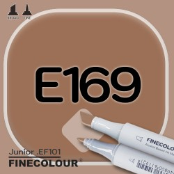 Маркер FINECOLOR Junior E169 Грецкий орех двухсторонний
