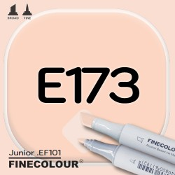 Маркер FINECOLOR Junior E173 Легкий загар двухсторонний