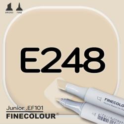 Маркер FINECOLOR Junior E248 Золото льва двухсторонний