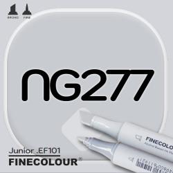 Маркер FINECOLOR Junior NG277 Нейтральный серый №3 двухсторонний