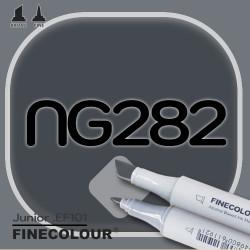 Маркер FINECOLOR Junior NG282 Нейтральный серый №10 двухсторонний