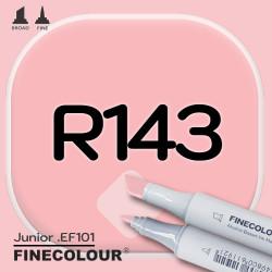 Маркер FINECOLOR Junior R143 Шпинель розовая двухсторонний