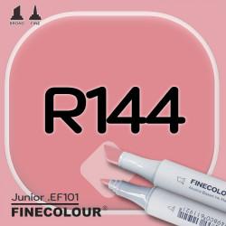 Маркер FINECOLOR Junior R144 Светлое красное дерево двухсторонний