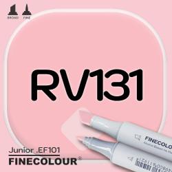 Маркер FINECOLOR Junior RV131 Телесный двухсторонний