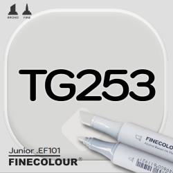 Маркер FINECOLOR Junior TG253 Серый тонер №3 двухсторонний