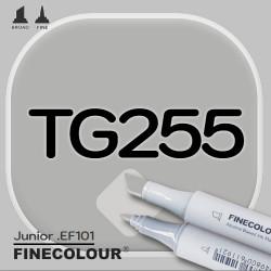 Маркер FINECOLOR Junior TG255 Серый тонер №5 двухсторонний
