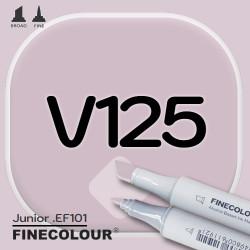 Маркер FINECOLOR Junior V125 Тусклый фиолетовый двухсторонний