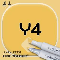 Маркер FINECOLOR Junior Y4 Желтый наполи двухсторонний