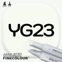 Маркер FINECOLOR Junior YG23 Фисташковый двухсторонний