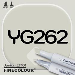 Маркер FINECOLOR Junior YG262 Желтовато-серый №4 двухсторонний