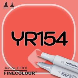 Маркер FINECOLOR Junior YR154 Желтовато-розовая кожа двухсторонний