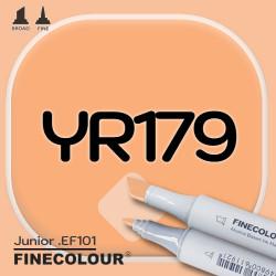 Маркер FINECOLOR Junior YR179 Тосканский коричневый двухсторонний