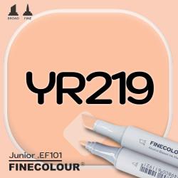 Маркер FINECOLOR Junior YR219 Песчаный коричневый двухсторонний