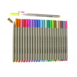 Цветные линеры Finecolour Liner