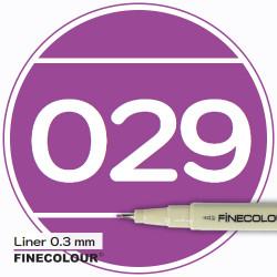Линер FINECOLOUR Liner 028 Насыщенный розовый